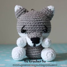 Good day everyone, I crocheted this cute little Big Bad Wolf recently and try my best to write down the pattern and share w...