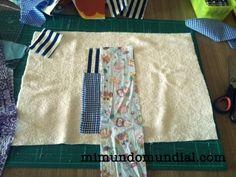 patchwork fácil #tutorial #reciclar #costura