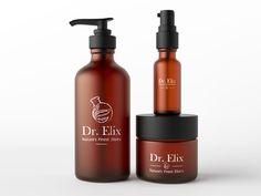 "My logo for natural cosmetics brand ""Dr. Elix"" #branding #identity  #designer  #logo  #logo"