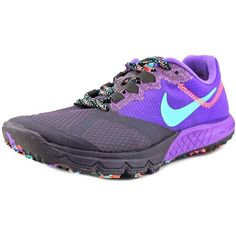 4c481f63df7 Nike Zoom Wildhorse 2 Round Toe Synthetic Running Shoe ( 43) ❤ liked on  Polyvore