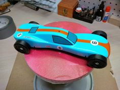 Image Girl Scout Swap, Girl Scout Leader, Girl Scout Troop, Brownie Girl Scouts, Cub Scouts, Race Car Cakes, Derby Time, Pinewood Derby Cars, Cars