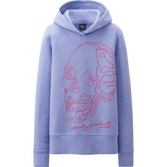 WOMEN SPRZ NY L/S SWEAT PULLOVER HOODIE (ANDY WARHOL)