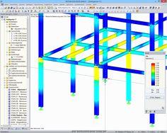 Dlubal RFEM 5 & RSTAB 8 - Plastische Bemessung von Stahlkonstruktionen | www.dlubal.de | #bim #cad #dlubal #dynamik #eurocode #fem #rfem #rstab #rxholz #statik #statiksoftware #tragwerksplanung