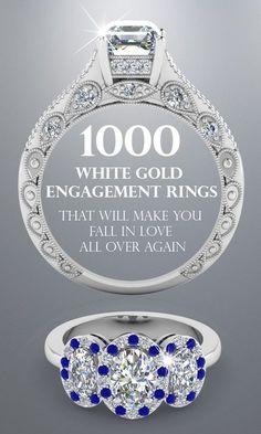 Choose from over 1100 designs of white gold engagement rings at Fascinating Diamonds.You can never go wrong when you buy a white gold ring