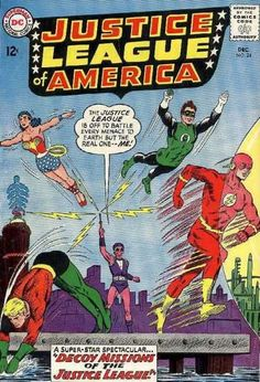 comic+books+covers | Justice League of America 24 - Flash - Comics Code - Decay Missions ...