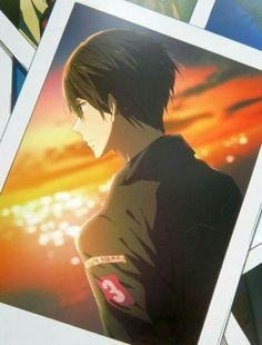 I need this calendar like I need to breath Nanase Haruka in Calender 2018 Otaku, Hot Anime Boy, Anime Guys, Makoharu, Haruka Nanase, Anime Manga, Anime Art, Makoto, Splash Free