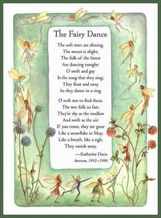 """Elves Faeries Gnomes: """"The Fairy Dance. Fairy Quotes, Raindrops And Roses, Fairy Pictures, Flower Fairies, Fairy Art, Magical Creatures, Nursery Rhymes, Faeries, Fairy Tales"""