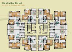 4 apartment floor plan