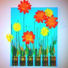 My First Pinterest Craft Flower Bouquet For Mother 39 S