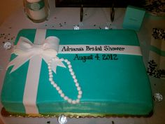 Tiffany and co theme bridal shower
