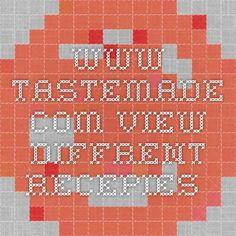 www.tastemade.com  view diffrent recepies.
