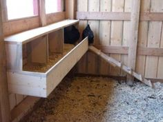 1000 images about chicken coop the roost nest box on for Amenagement interieur poulailler bois