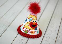 Elmo Birthday Party Hat