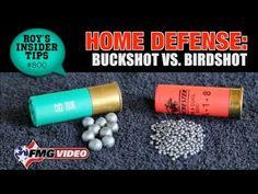 Home Defense: Buckshot vs. Birdshot | American Handgunner