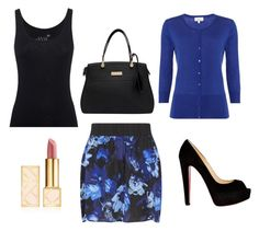 """Untitled #43"" by bussmay on Polyvore featuring Juvia, Gestuz, Linea, Christian Louboutin and Tory Burch"