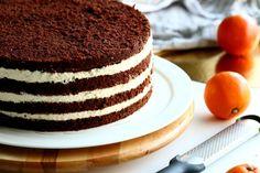 Appelsiinimousse kakun väliin - Suklaapossu Tiramisu, Tart, Cheesecake, Sweets, Ethnic Recipes, Desserts, Food, Baking Ideas, Tailgate Desserts