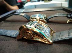 The most expensive watches at the fair - Bugatti Super Sport