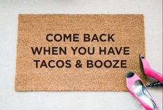 10 Adorable DIY Welcome Mats | Her Campus | http://www.hercampus.com/diy/decorating/10-adorable-diy-welcome-mats
