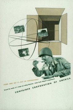 Herbert Matter Advertisement for CCA 1943