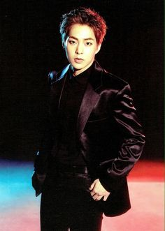 Photocard for EXO's tour 'The EXO'rDIUM' - Xiumin