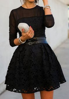 feminine lace #lbd