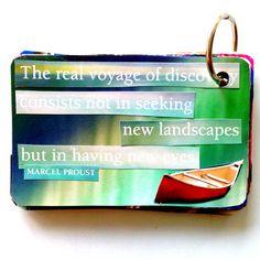 Creative Self-Care: making coping cards copingcardcanoe www.arttherapist.ca