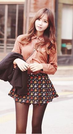 Love the colors of the outfit  interesting skirt design마­카­오­추­천­카­지­노のSOO⑦ ⑨.C○ⓜみ▩­카­지­노추­천마­카­오­