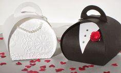 8 Cajitas con moldes para hacer lindos souvenirs de regalo ~ lodijoella
