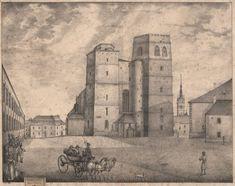 Knejpůsobivějším církevním stavbám vOlomouci nepochybně patří chrám svatého Mořice. Jeho dnešní podoba je pozdně gotická a pochází z15. století. Historie svatyně na tomto místě je však mnohem starší, podle nejrůznějších archeologických i písemných indicií zde stával kostel nejpozději ve 12. století, ale spíš ještě dříve. Současný monumentální gotický chrám má mnoho pozoruhodností, asi nejzajímavější nebo na pohled nejpůsobivější je ale jeho jižní, nejvyšší věž.