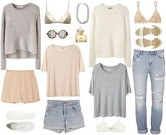 Neutrals, nudes, outfits