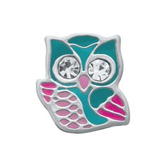HELLO OWL This friendly Hello Owl Charm will make himself right at home in your Living Locket®. Make a wise choice by including a few Radiant Aqua Accent Stones too! Owl Charms, Locket Charms, Lockets, Origami Owl Jewelry, Origami Charms, Oragami, Owl Pet, Floating Charms, Personalized Charms