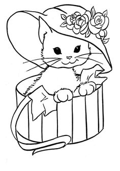 Cat Coloring Pages Free Online Printable Sheets For Kids Get The Latest Images Favorite To Print