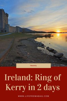 How to see the Ring of Kerry in two days. Where to drive, eat, stay and everything to see along the way in the amazing Ireland Europe Travel Guide, Travel Guides, Travel Destinations, European Destination, European Travel, Scotland Travel, Ireland Travel, By Train, Natural Wonders