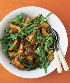 Roasted Acorn Squash Salad from realsimple.com #myplate #vegetables