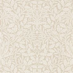 Buy William Morris and Co 216040 Acorn Wallpaper | Pure Wallpapers | Fashion Interiors