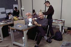 * Jean Paul Gaultier 1987 photo Jean Claude Deutsch pour Paris Match Fashion Studio, Jean Paul Gaultier, Fashion History, Style Icons, Designers, Portraits, Paris, Atelier, Deutsch
