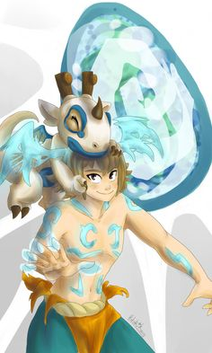 Yugo and Adamai 1 by Hitorik