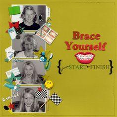 Brace Yourself {FSTF} - Scrapbook.com