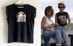 """t- shirt diy """" Thelma and Louise """" wilawianki.pl"""