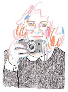 I LOVE ILLUSTRATION /// illustration inspiration Rebecca Clarke