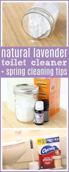 DIY Natural Toilet Cleaner + Spring Cleaning Tips - Cleaning Hacks Natural Toilet Cleaner, Natural Cleaners, Toilet Cleaner Diy, Toilet Cleaning, Bathroom Cleaning, Apartment Cleaning, Bathroom Remodeling, Layout Design, Diy Cleaners