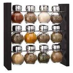 Buy John Lewis 12 Jar Filled Spice Rack Online at johnlewis.com
