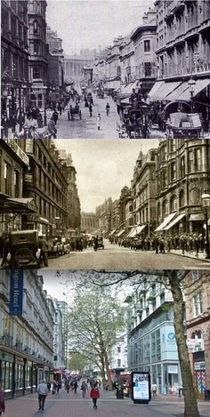 Then & Now Birmingham City Centre, Home History, Birmingham England, 2nd City, Bus Coach, English Heritage, West Midlands, Yesterday And Today, Victorian Homes