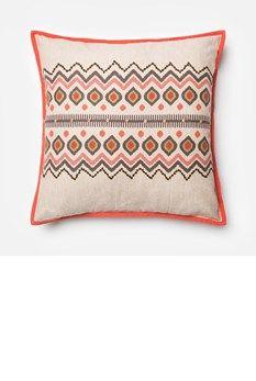 22 x 22 Silver//Black 22 x 22 Loloi Rugs P053P0242SIMLPIL3 Loloi P0242 Cotton /& Recycled Sari Silk Pillow Cover