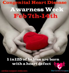 CHD Awareness Week is an annual awareness effort to help educate the public about Congenital Heart Defects. Participants include individuals, local support groups, national and local organizations and congenital cardiology centers throughout the world! Congenital Heart Disease is considered to be the most common birth defect, and is a leading cause of birth-defect related deaths worldwide. Lets spread the awareness together.