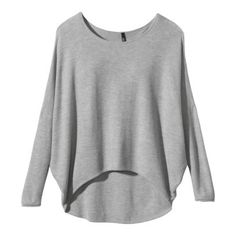 Target Labworks High Low Pullover Sweater | Gray