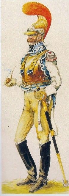 carabiniers a cheval 1812