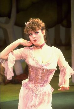 Bernadette Peters in Sunday in the Park with George, 1984.