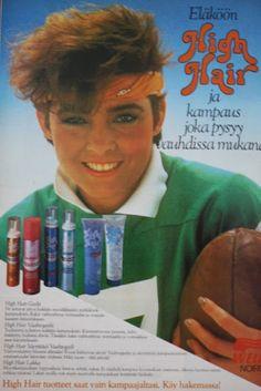Buduaarini: Mainoksia 80-luvulta Kauneus ja terveys -lehdistä