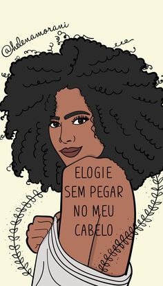 #ilustra #ilustração #ilustration #ilustracion #draw #art #arte #autoestima #loveyourself #amorproprio #empoderamentofeminino #empoderamento #feminismo #todecacho #wallpaper Black Girl Art, Black Girl Magic, Black Art, Black Girls, Art Girl, Frame Wall Collage, Black Cartoon, Dread Hairstyles, Afro Art